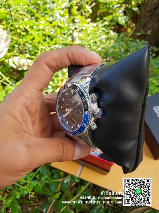 รีวิว นาฬิกา Naviforce NF9147 ผู้ชาย สายเหล็ก อย่างหรู!