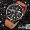 นาฬิกา Naviforce NF9103 สายหนัง รุ่นใหม่ แนวดูดี สีส้มอย่างเทห์