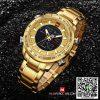 นาฬิกา Naviforce NF 9093 สีทอง อย่างเท่ห์ เรือนสวย ของเเท้ พร้อมกล่อง รับประกัน 1 ปี ส่งฟรี มีบริการเก็บเงินปลายทาง
