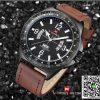 นาฬิกา Naviforce NF 9103 อย่างเท่ห์ สีน้ำตาล สายหนัง พร้อมกล่อง รับประกัน 1 ปี ส่งฟรี มีบริการเก็บเงินปลายทาง